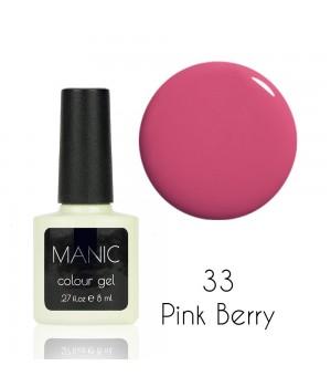 Гель лак MANIC №33 Pink Berry
