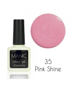 Гель лак MANIC №35 Pink Shine