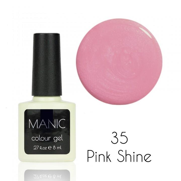 Гель лак для ногтей MANIC №35 Pink Shine