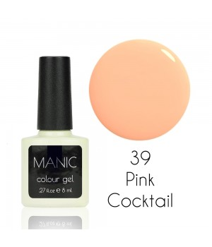 Гель лак MANIC №39 Pink Cocktail