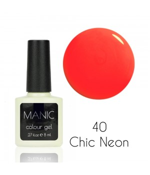 Гель лак MANIC №40 Chic Neon