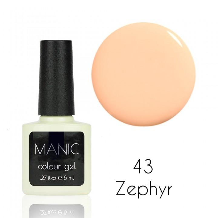 Гель лак для ногтей MANIC №43 Zephyr