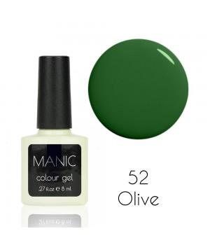 Гель лак MANIC №52 Olive