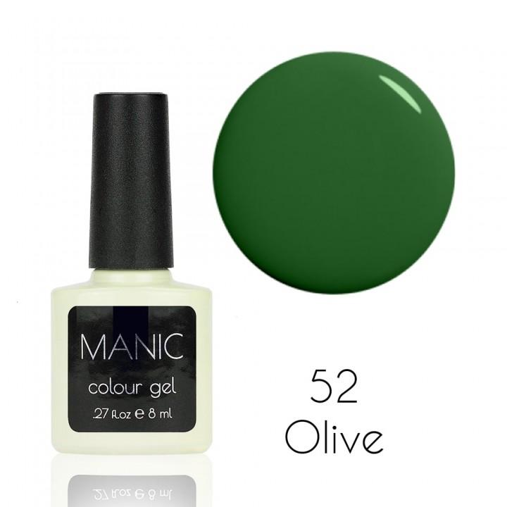 Гель лак для ногтей MANIC №52 Olive
