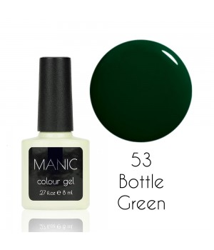 Гель лак MANIC №53 Bottle Green