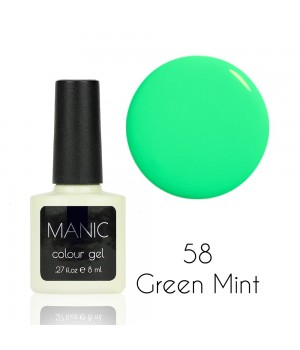 Гель лак MANIC №58 Green Mint