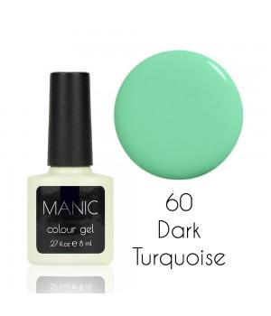 Гель лак MANIC №60 Dark Turquoise