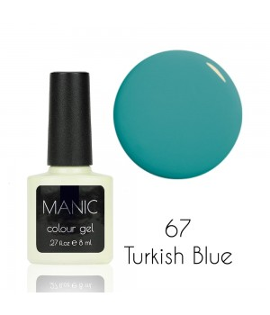 Гель лак MANIC №67 Turkish Blue