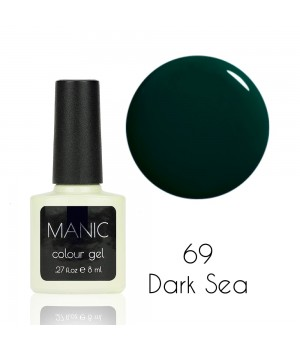 Гель лак MANIC №69 Dark Sea