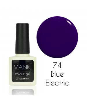 Гель лак MANIC №74 Blue Electric