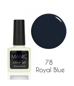 Гель лак MANIC №78 Royal Blue
