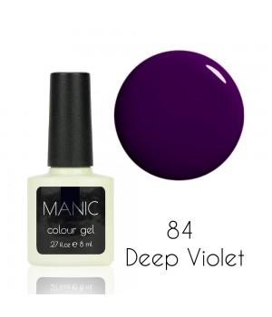 Гель лак MANIC №84 Deep Violet