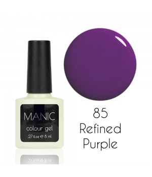 Гель лак MANIC №85 Refined Purple