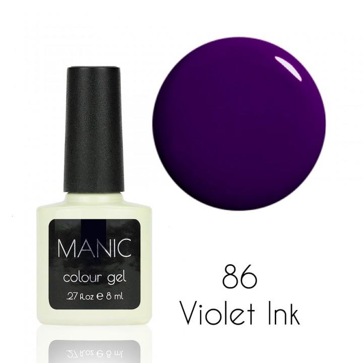 Гель лак для ногтей MANIC №86 Violet Ink