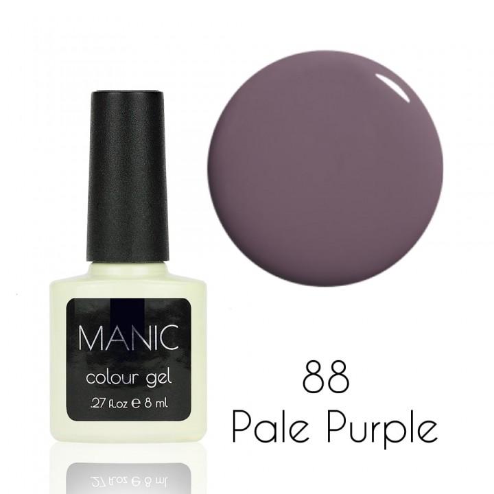 Гель лак для ногтей MANIC №88 Pale Purple