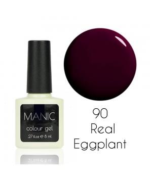 Гель лак MANIC №90 Real Eggplant