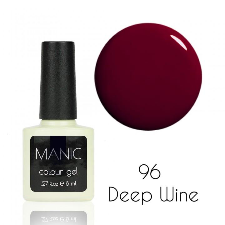 Гель лак для ногтей MANIC №96 Deep Wine