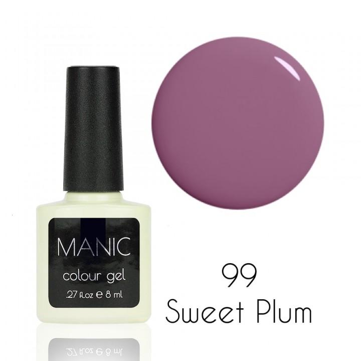 Гель лак для ногтей MANIC №99 Sweet Plum