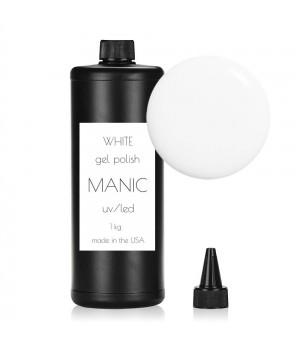Гель лак MANIC №01 White 1 кг