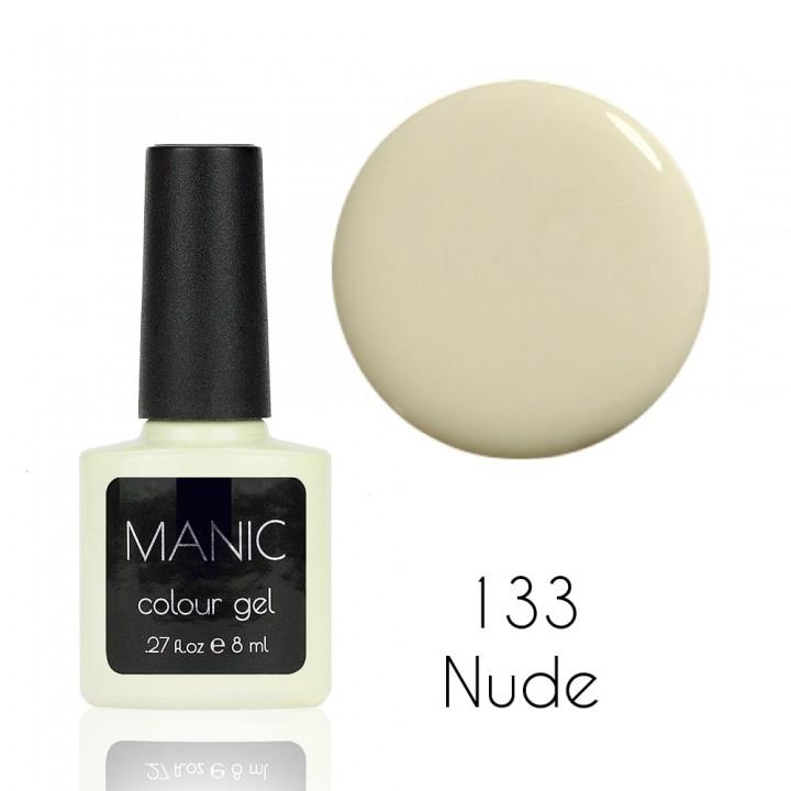 Гель лак для ногтей MANIC №133 Nude