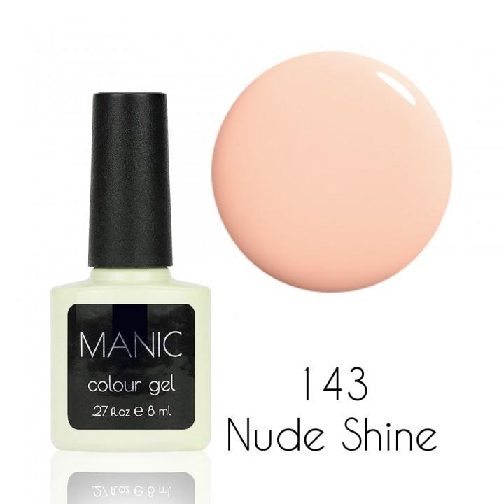 Гель лак для ногтей MANIC №143 Nude Shine
