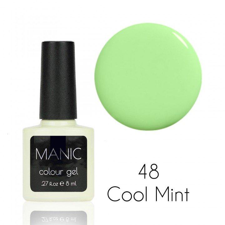 Гель лак для ногтей MANIC №48 Cool Mint