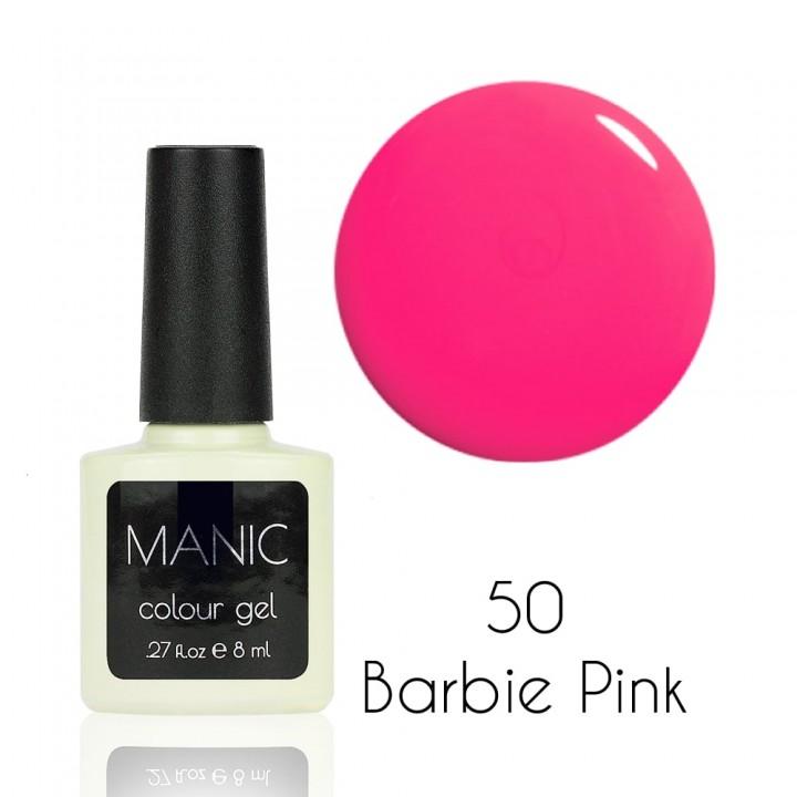 Гель лак для ногтей MANIC №50 Barbie Pink