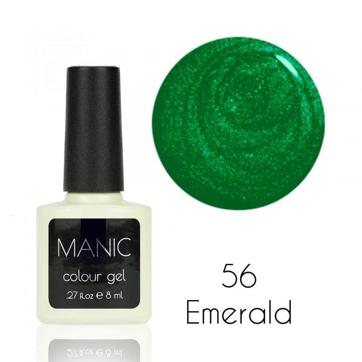 Гель лак для ногтей MANIC №56 Emerald