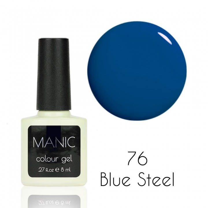 Гель лак для ногтей MANIC №76 Blue Steel