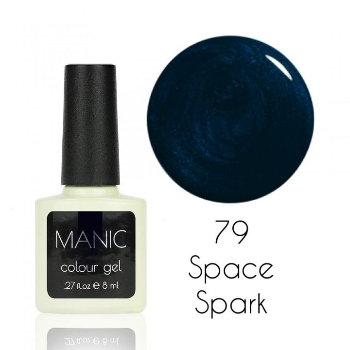 Гель лак для ногтей MANIC №79 Space Spark
