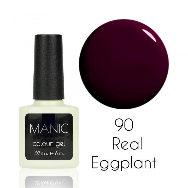Гель лак для ногтей MANIC №90 Real Eggplant