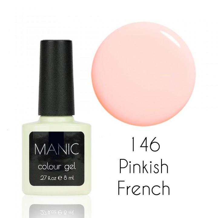 Гель лак для ногтей MANIC №146 Pinkish French