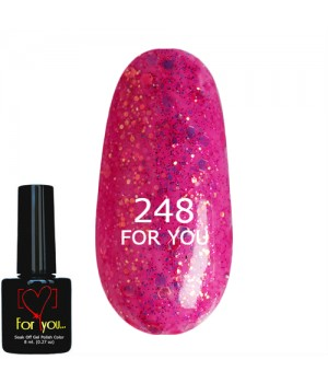 Гель лак Розовый №248
