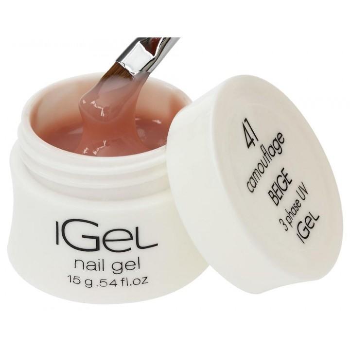 Гель для наращивания ногтей iGel Beige №41