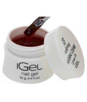 Гель для ногтей iGel Natural Clear №13