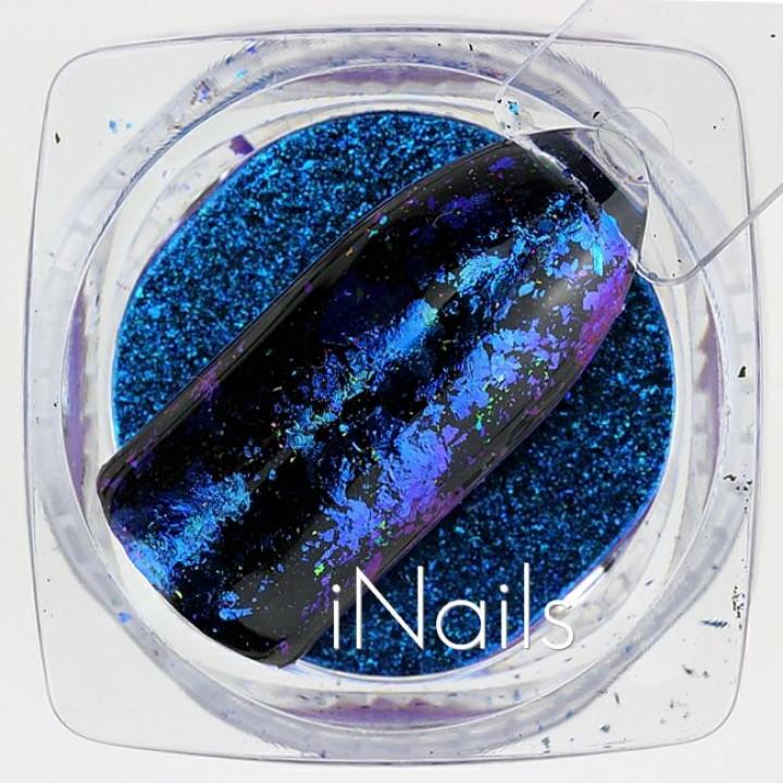 Голографические Хлопья Юки №13 для дизайна ногтей