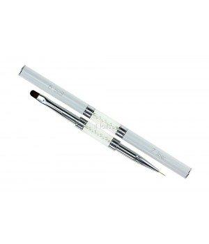 Кисть для росписи и дизайна ногтей Oval #6 / Liner #7