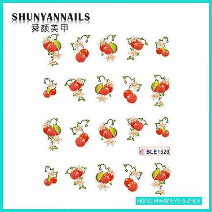 Наклейки для ногтей Фрукты, ягоды
