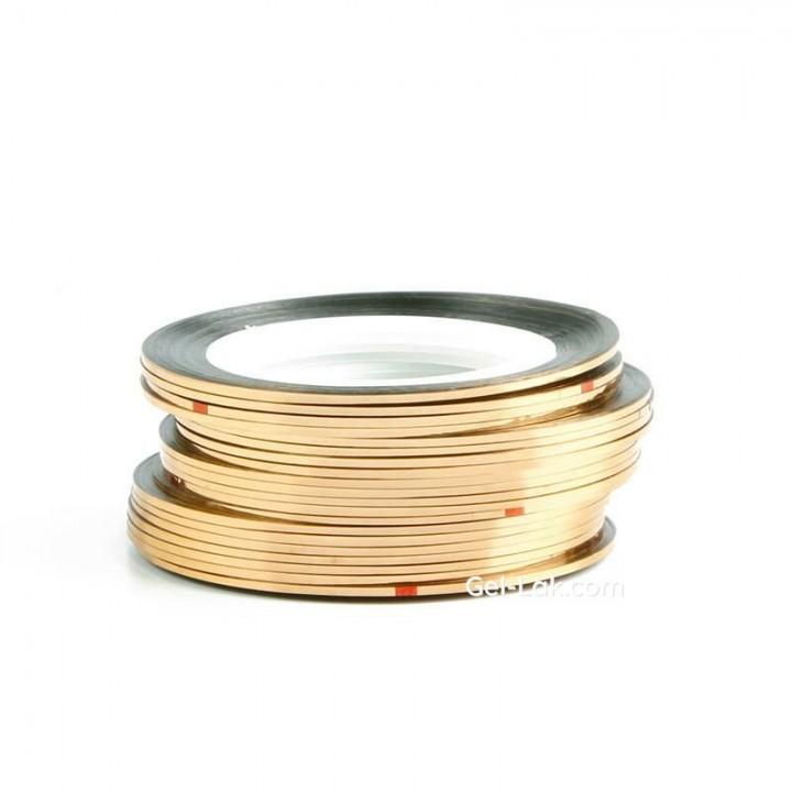 Нить для дизайна ногтей Золото