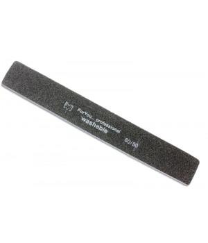 Пилка для ногтей FOR YOU 100/100 широкая черная