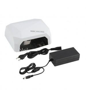 ОРИГИНАЛ!!! Гибридная CCFL-UVLED лампа 36 вт с сенсором для гель лака, shellac, геля